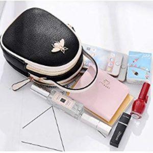 Handbags - Women's Small Crossbody Messenger Handbag:
